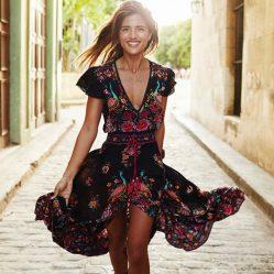Italian Summer Womens Dress
