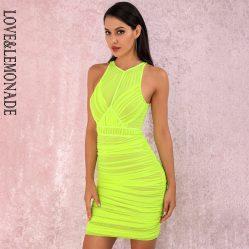 Fluoro Party Dress
