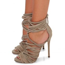 strappy heels for summer