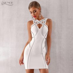 Womens Party Dress In White