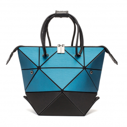 Space & Time Geometric Tote Handbag
